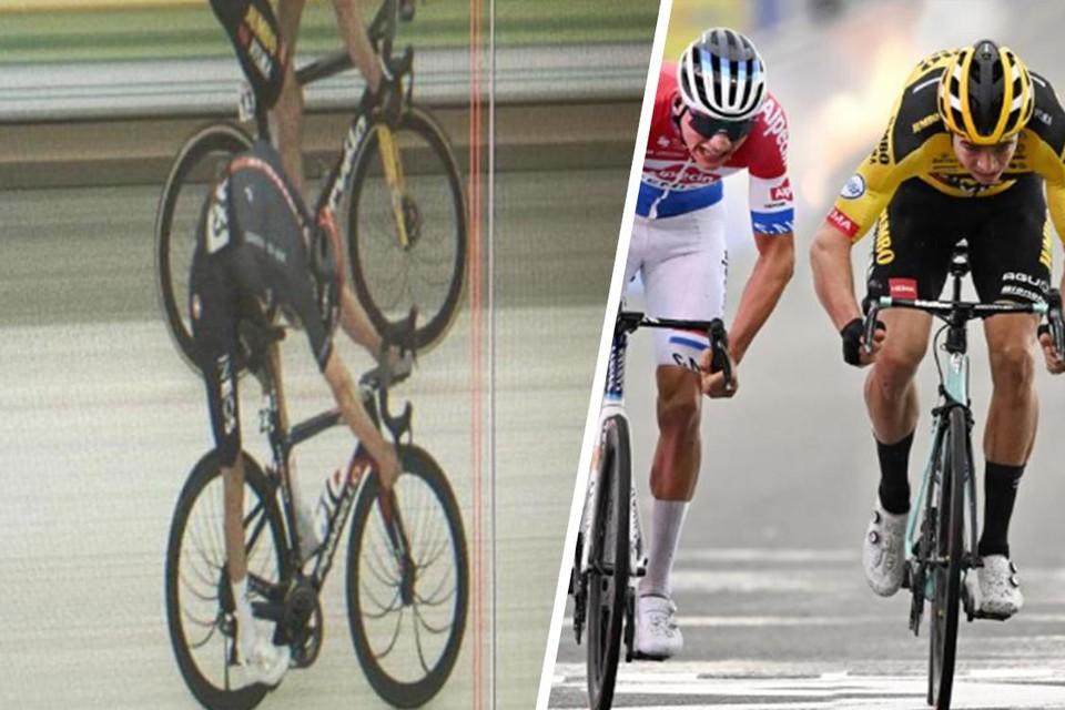 Wout van Aert heeft al aardig wat nipte sprints betwist de laatste tijd.