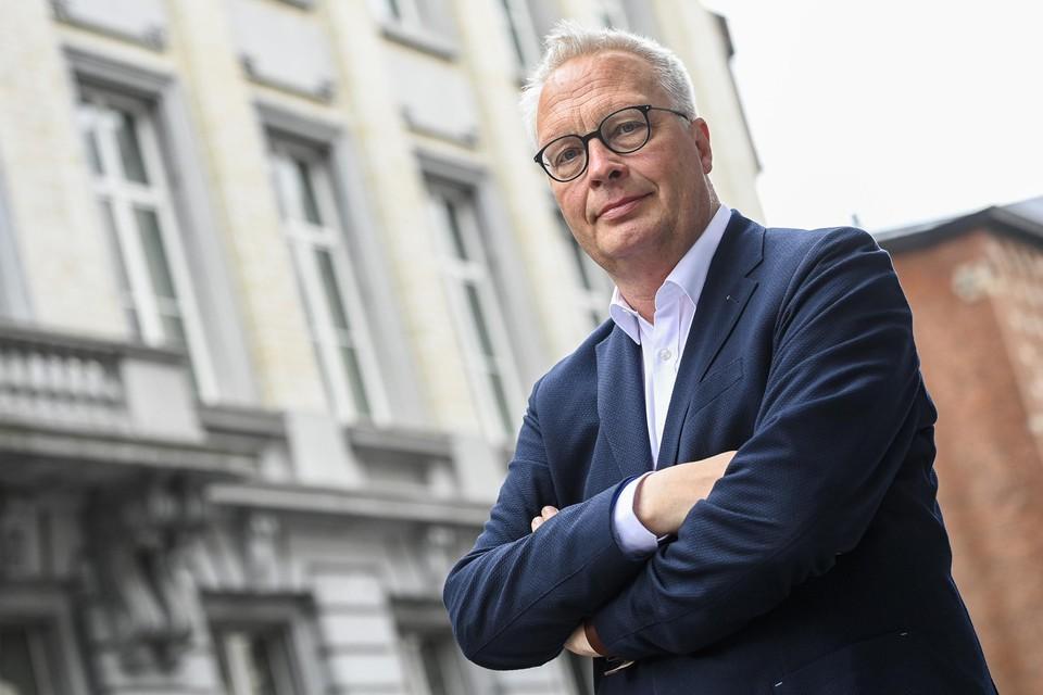 PVDA-voorzitter Peter Mertens