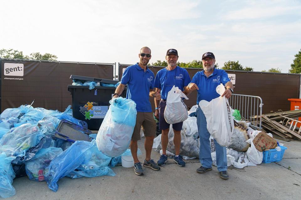 Gentse vrijwilligers verzamelen afval op World Cleanup Day