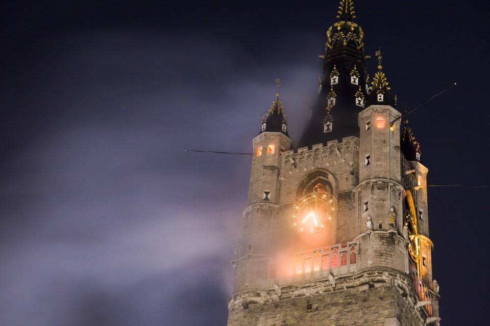 Dit jaar zal niet het Belfort, maar de Sint-Niklaaskerk branden.