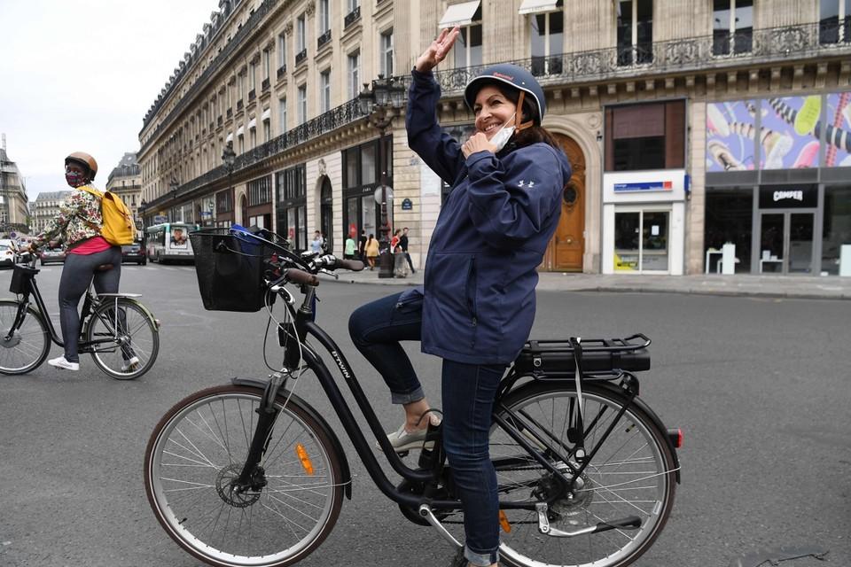 Anne Hidalgo. foto AFP