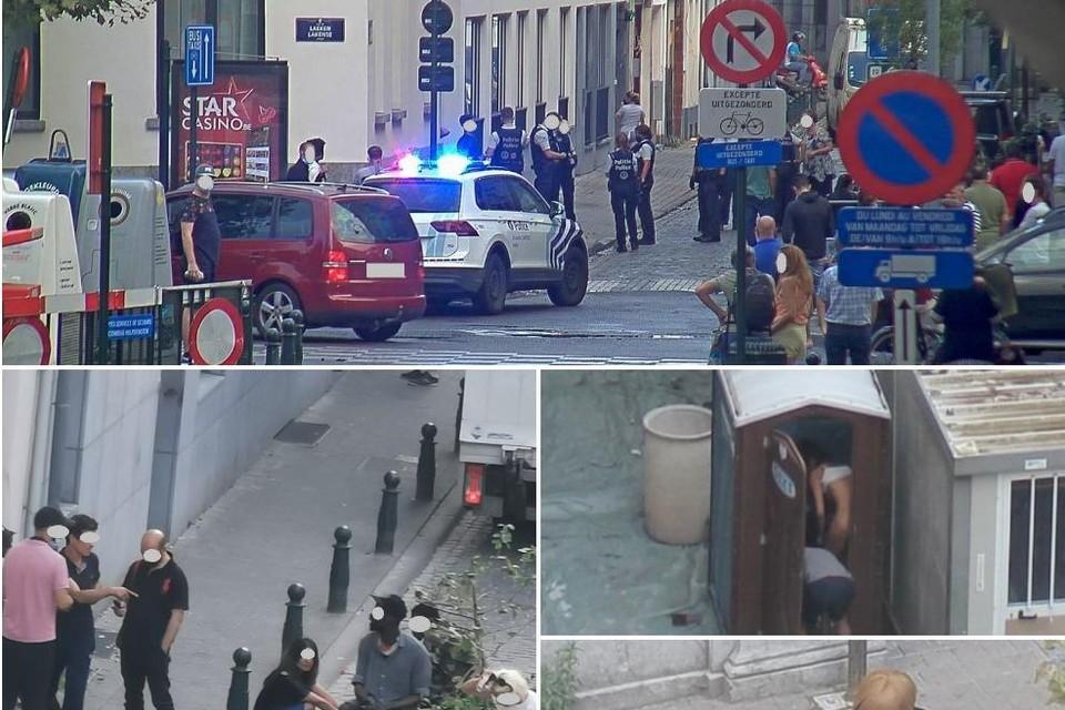 Prostituees die hun gevoeg doen op straat, klanten afwerken in werftoiletten of dealers die openlijk drugs verkopen: het is onhoudbaar in de Alhambrawijk.
