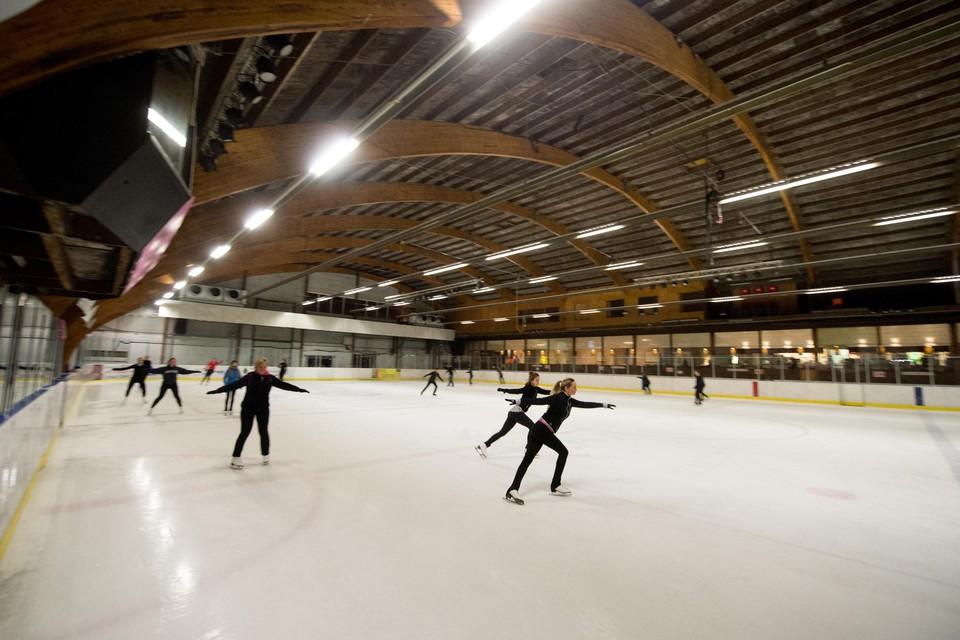 De schaatsbaan in de Otterstraat maakte enkele jaren geleden plaats voor een binnenspeeltuin.