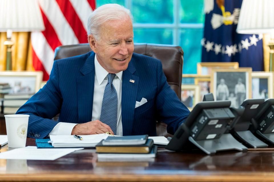 In het telefoongesprek gaf Amerikaans president Joe Biden toe dat er meer overleg had moeten zijn.