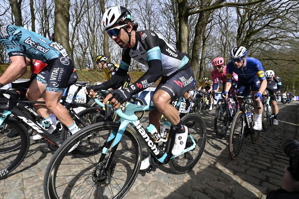 Michael Matthews eindigde in Gent-Wevelgem met de besten.