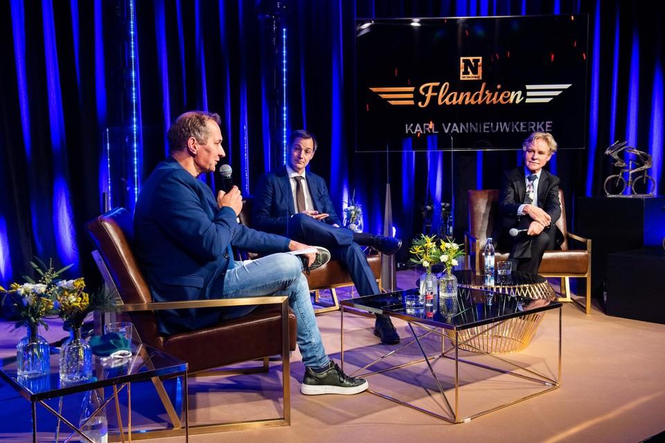 Karl Vannieuwerke zorgde opnieuw voor een knappe presentatie van de dit keer bescheiden show.