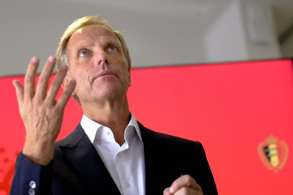 Peter Bossaert, CEO van de KBVB.