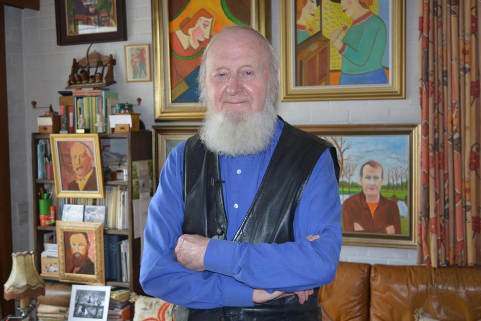 Gerard Vekeman maakt tegenwoordig vooral schilderijen.