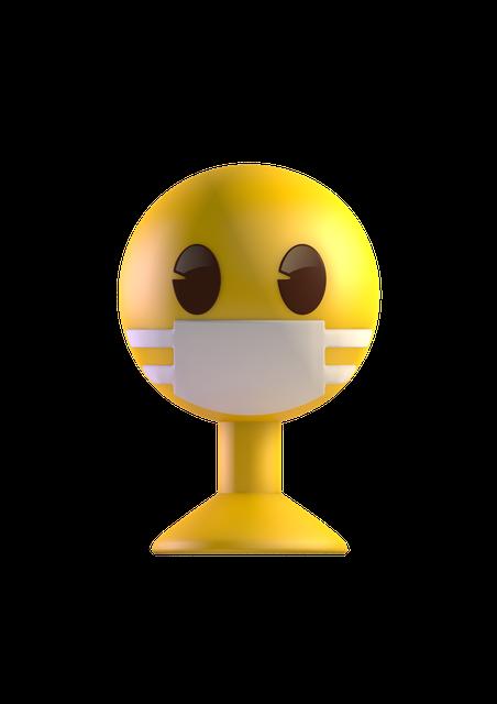 """Het aanbod emoji's is volledig vernieuwd. """"Dit keer hebben we zelfs een poppetje met mondmasker."""""""