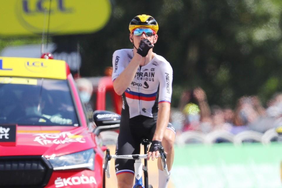 Matej Mohoric maak je beter niet boos: hij snoerde de criticasters de mond met een tweede ritzege