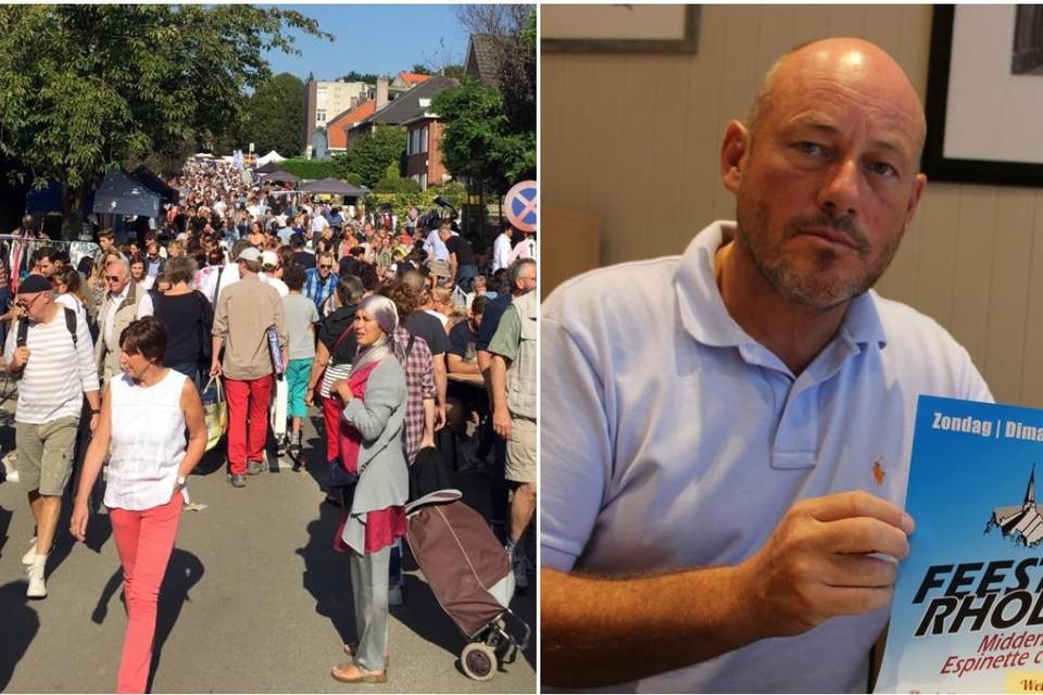Volgens organisator Bernard Van den Heuvel zal de markt 850 stands tellen.
