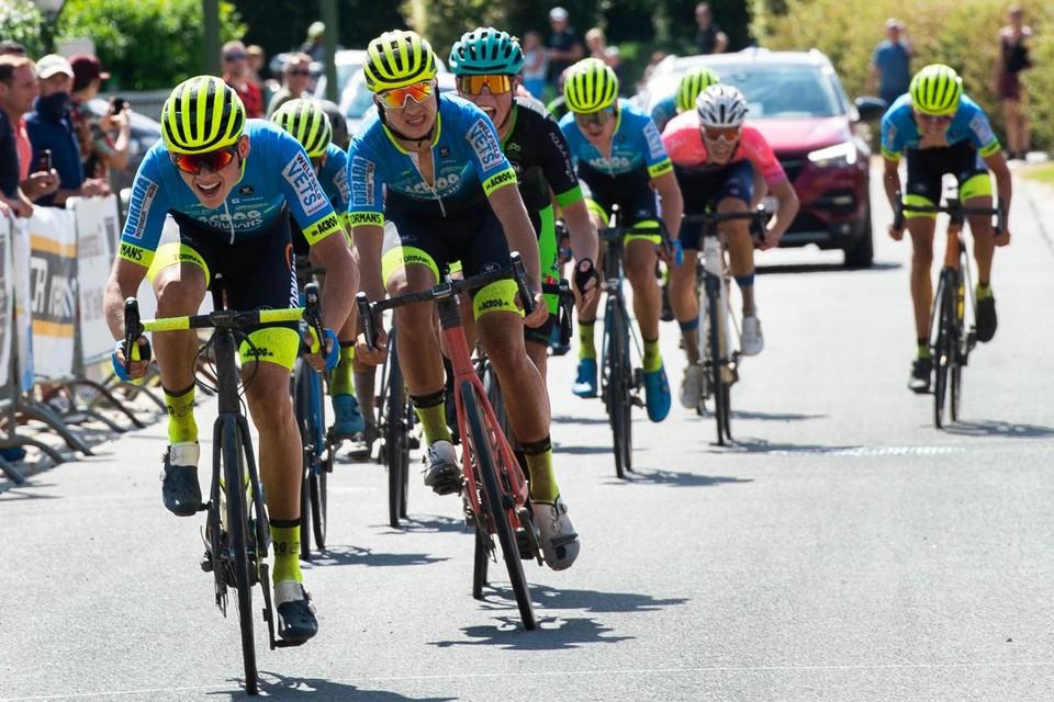 In Tielt-Winge verloor Thomas Vuerinckx de spurt voor de derde plaats van Milan De Ceuster.
