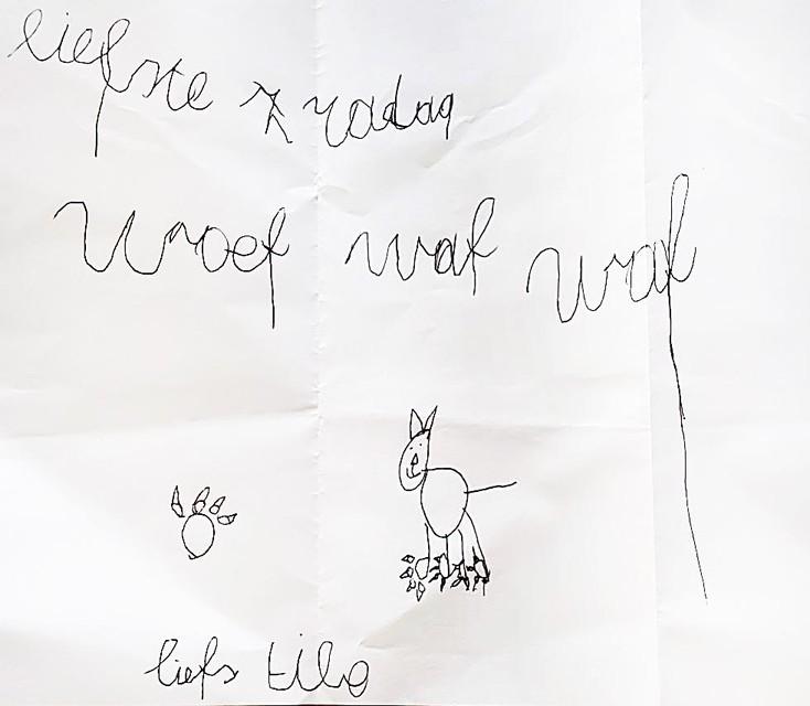 Tibe, 7 jaar uit Melsele