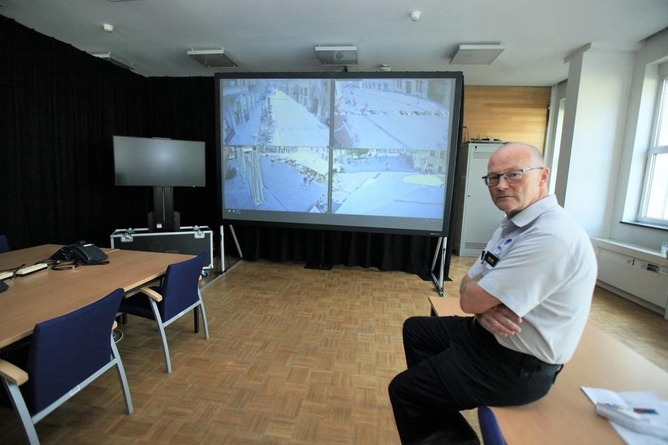 Marc Vranckx in het multidisciplinair centrum.
