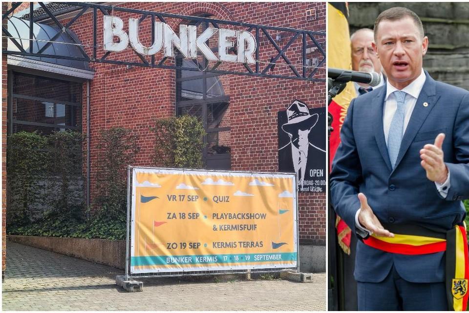 De burgemeester wil de vechtersbazen, die onder meer De Bunker onveilig maakten, niet meer zien.