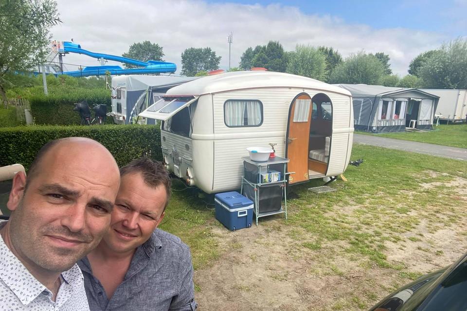 Engelbosch en zijn partner trokken vrijdag naar een camping.