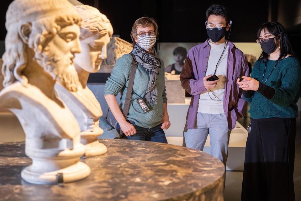 Ondanks corona bezochten 41.703 mensen de expo 'Oog in oog met de Romeinen' in het Gallo-Romeins Museum van Tongeren. De tentoonstelling kreeg bovendien een hoge waardering.