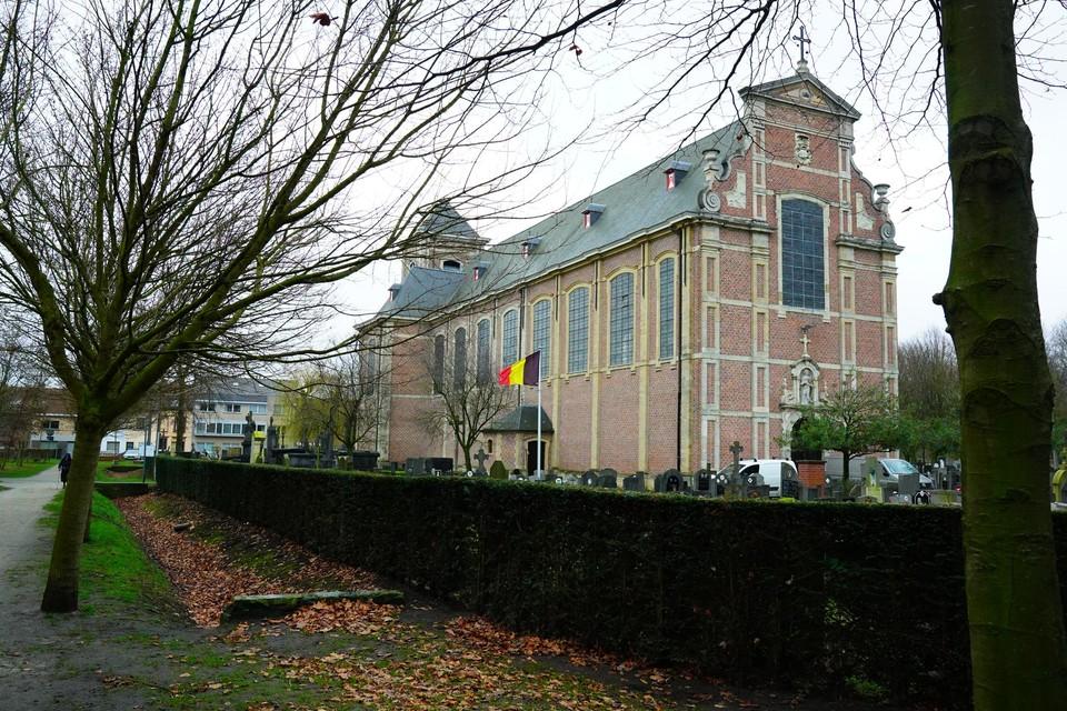 Er werd onder meer ingebroken in de Sint-Catharinakerk. (archiefbeeld)