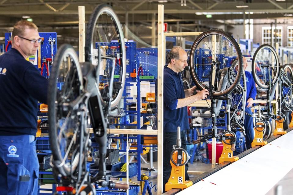 In Dieren, zo'n 120 km van Amsterdam, staat de fietsenfabriek van Gazelle , door Pon een kleine 10 jaar geleden overgenomen.