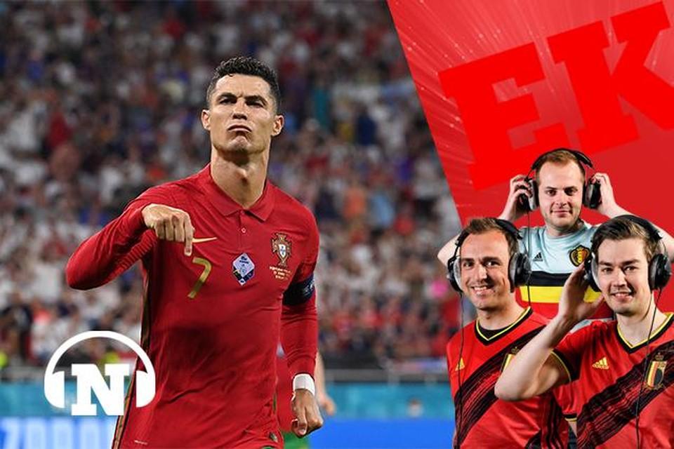 Cristiano Ronaldo, het volgende obstakel van de Rode Duivels.