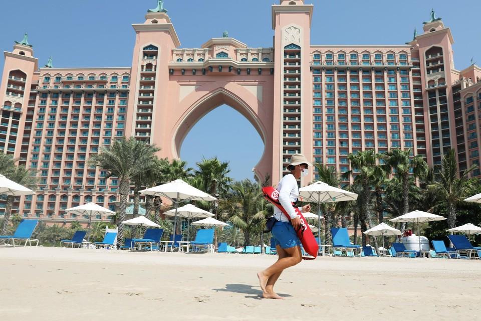Het Atlantis The Palm-hotel in Dubai. Het emiraat aan de Perzische Golf is een populaire bestemming in de eindejaarsperiode.