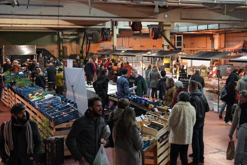 De Lokaalmarkt in Gentbrugge