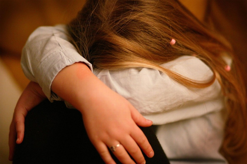 Themafoto over depressie bij kinderen