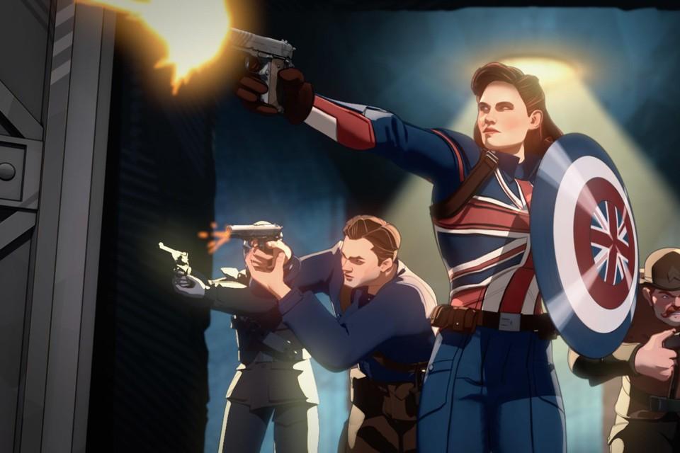 In wordt het universum van Marvel op z'n kop gezet. Wat gebeurt er bijvoorbeeld wanneer niet Captain America, maar zijn ondergewaardeerde vlam Peggy de superheld van dienst wordt?