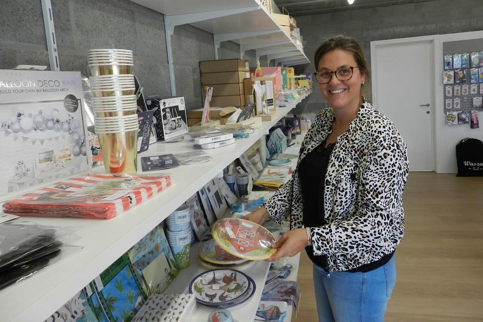 Tinne Verheyen heeft in haar winkel meer plaats om alles uit te stallen.