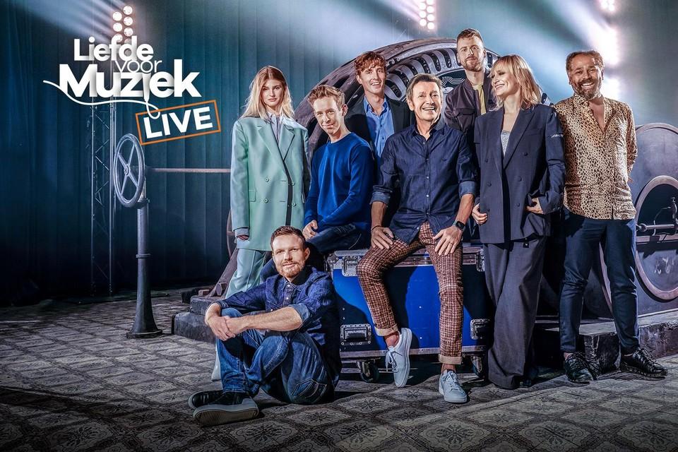 De deelnemers van 'Liefde voor muziek' treden op 25 en 26 september op in de Lotto Arena.