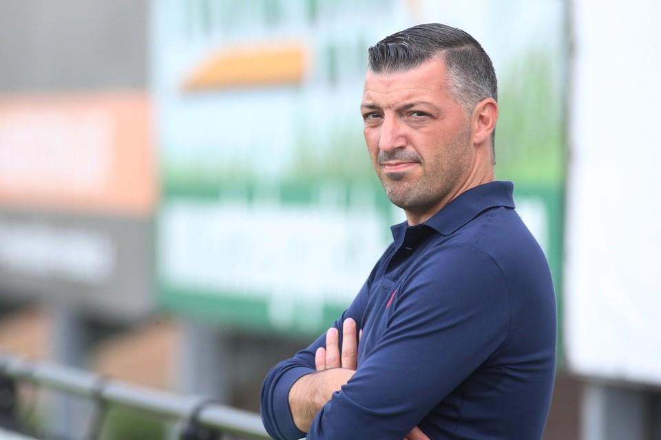 Angelo Paravizzini hoopt dat zijn team zich herpakt tegen Rumbeke.
