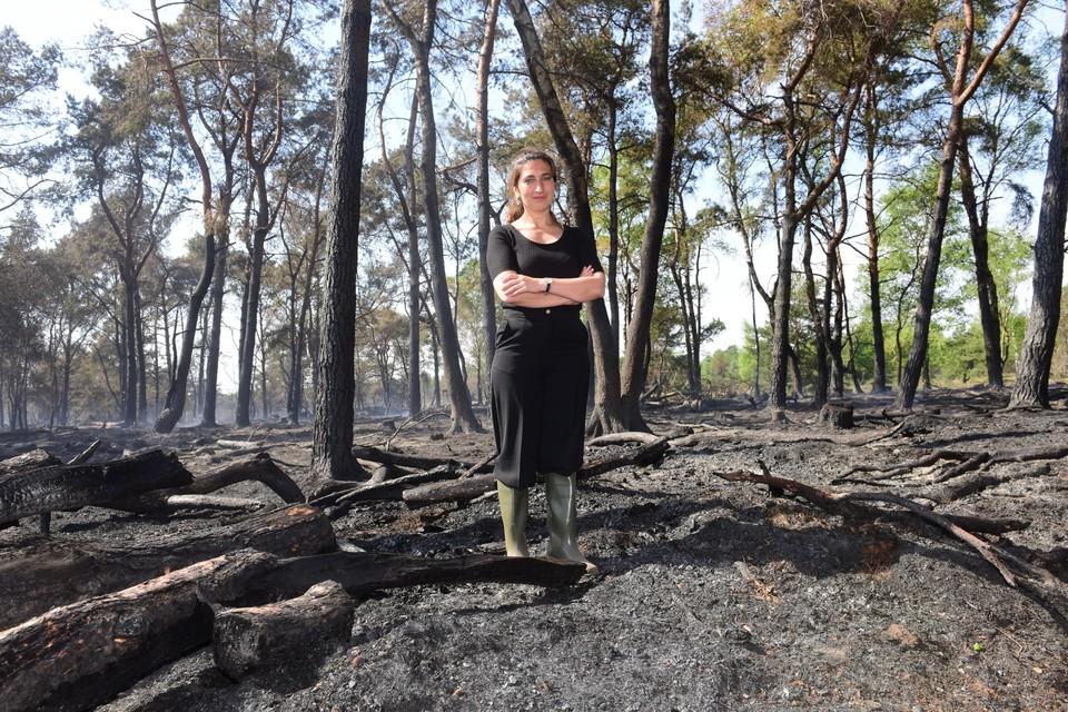 Minister Demir bezocht twee jaar geleden na een zware brand Landschap De Liereman, dat nu kans maakt om deel te worden van Nationaal Park Taxandria.