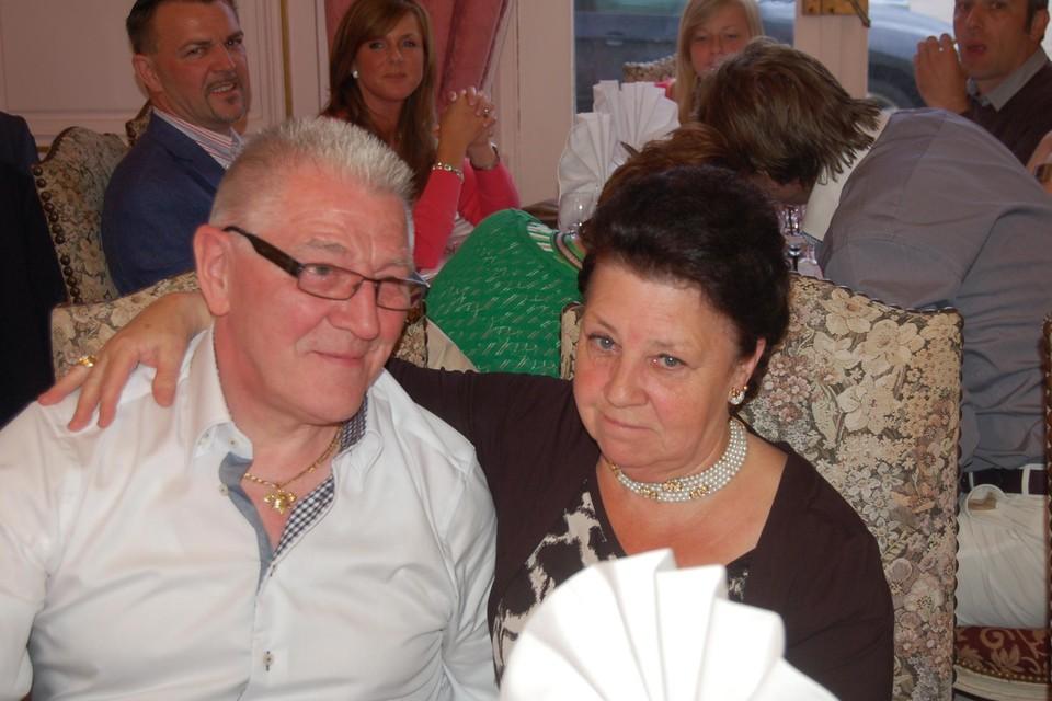Paul Van De Velde en Jeanine De Vylder in betere tijden.