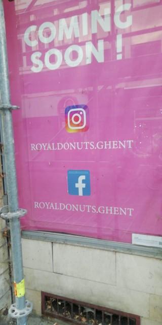 Royal Donuts opent eerste vestiging in Gent