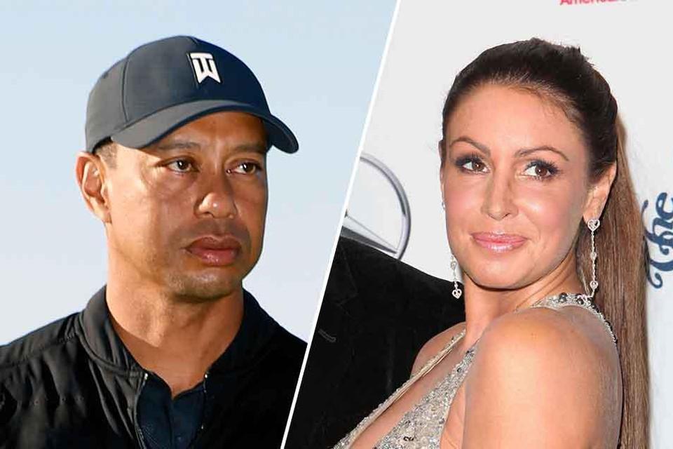 Tiger Woods en Rachel Uchitel.