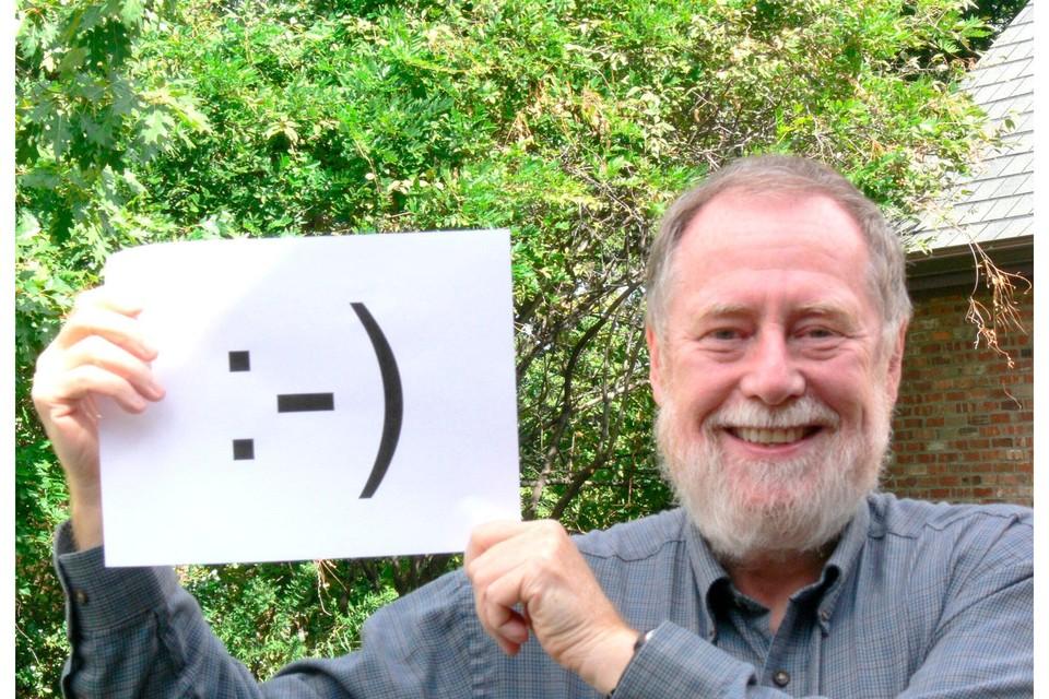 Professor Scott Fahlman, bedenker van de eerste emoticons