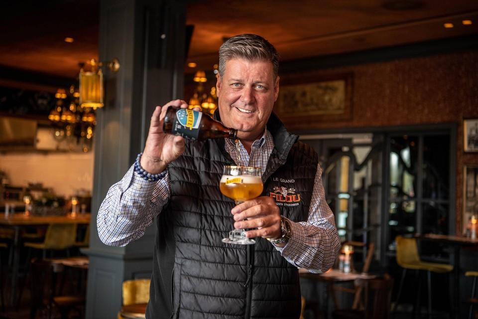 Xavier Vanhonsebrouck viert net als Kasteelbier zijn jubileum in de brouwerij met de introductie van een nieuw bier.