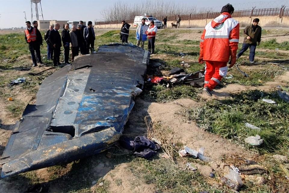Landen wijzen elkaar met de vinger voor de fatale crash in Teheran