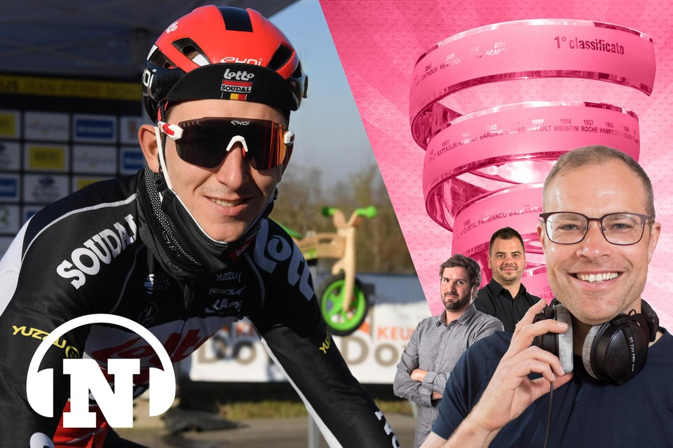 Vlak voor zijn afreis naar Italië ontving Jasper De Buyst ons thuis in Erpe-Mere voor een eerste Giro Lungo.