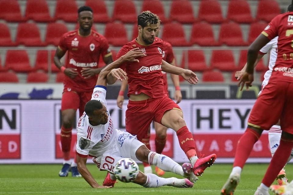 Rodrigues in juli in een oefenmatch tegen Lyon.