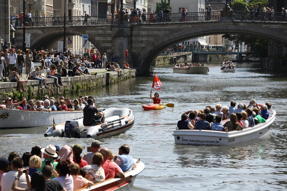 De Gentse binnenwateren staan vanaf 19 november een halve meter lager.