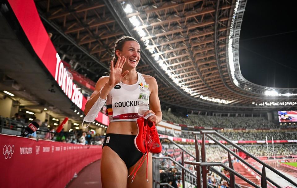 Paulien Couckuyt had vooraf gehoopt op een Belgisch record en een halve finale. Opdracht volbracht, maar ambitieus als ze is, was Couckuyt achteraf toch niet helemáál tevreden.
