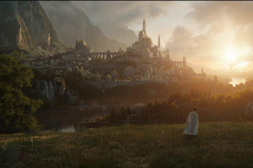 Op een eerste beeld van de nieuwe -reeks zien we een magisch landschap.