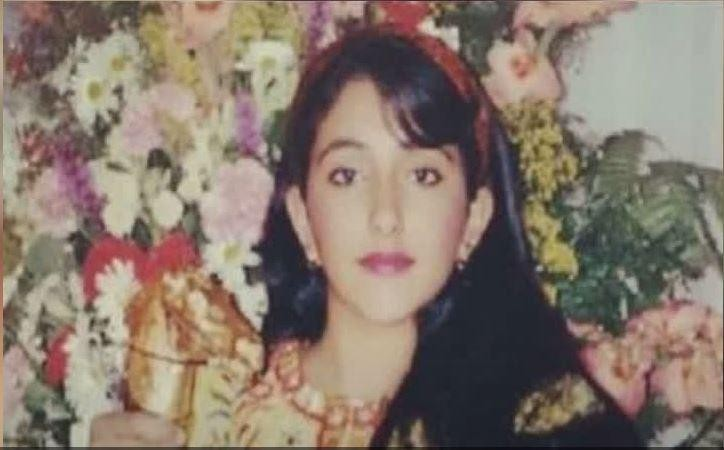 Shamsa verdween na haar ontvoering in 2000 van de radar. Dit is een van de weinige foto's van haar.