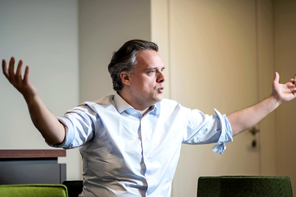 Oud-minister Philippe De Backer (Open VLD)