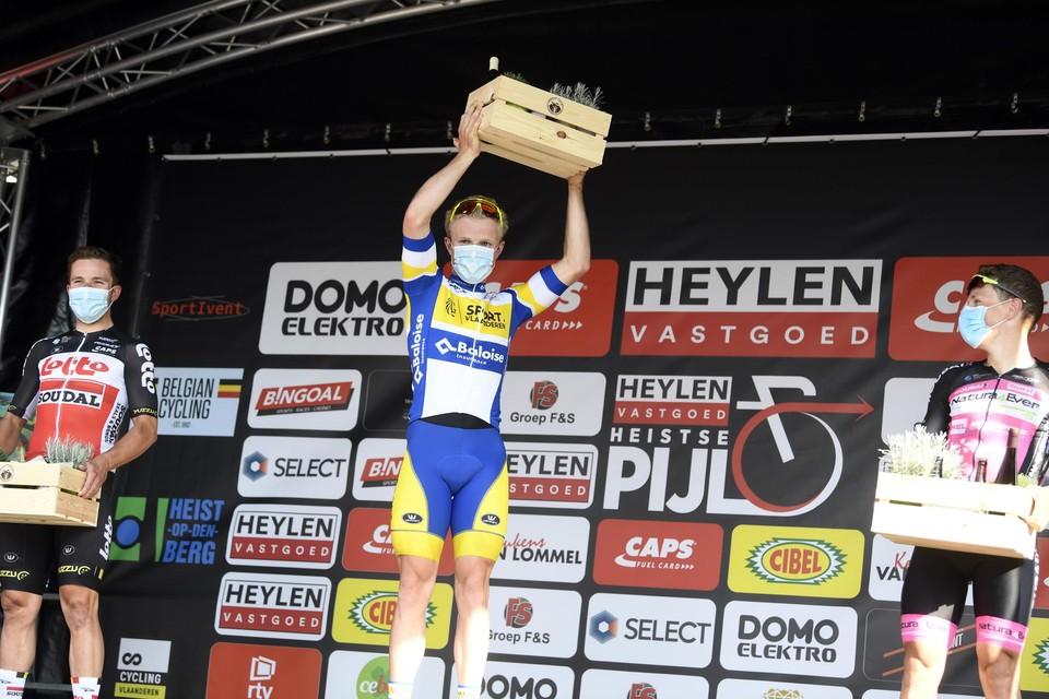 Vorig jaar won Sasha Weemaes de Heylen Vastgoed Heistse Pijl.