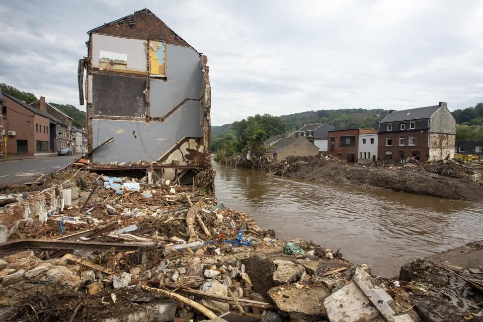 Moeten de woningen in Pepinster heropgebouwd worden of niet?