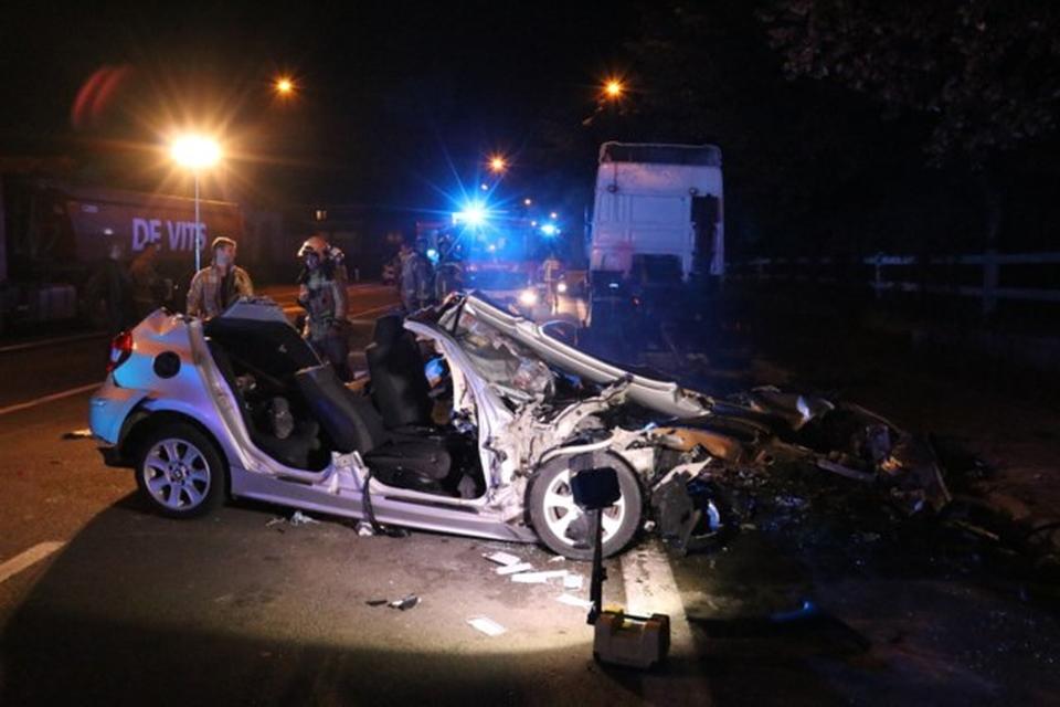 De passagier van het ongeval in Ninove is er volgens het parket zeer erg aan toe