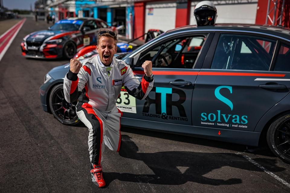 Dominique Willems maakt zaterdag zijn debuut als racepiloot tijdens de 24 uur van Zolder.