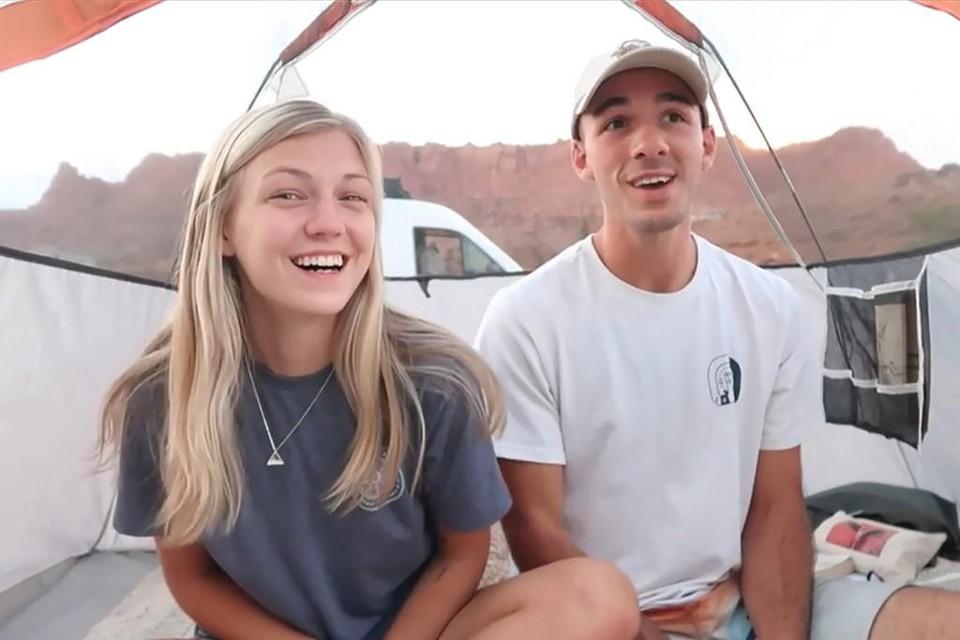 Volgens vrienden waren Gabby en Brian bij vertrek smoorverliefd